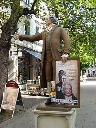 Weimar Goethe Points Us to Weimar Haus