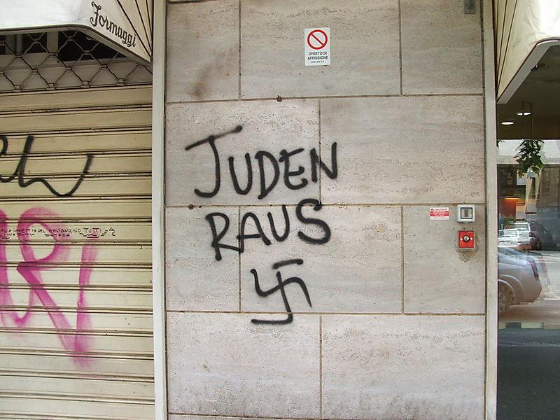 Juden Raus Graffito