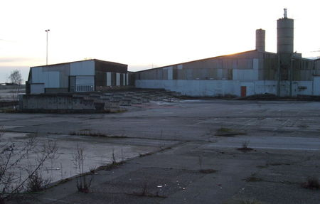 Abandoned Factory Near Dormagen View 1
