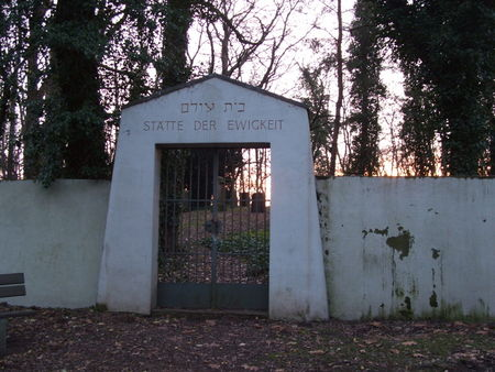 Entrance to Jewish Cemetery Hannepuetzheide