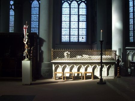 Monument and Statue of Christ Altenberger Dom
