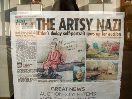 The Artsy Nazi Hitler Art Sun