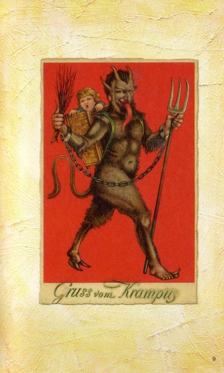 Krampus Postcards