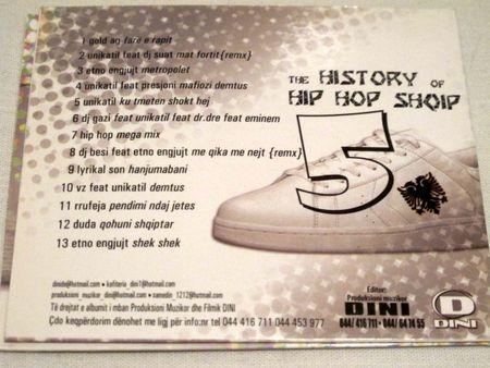 Hip Hop Shqip Back Cover