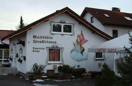 Gaststaette with Lueftlmalerei