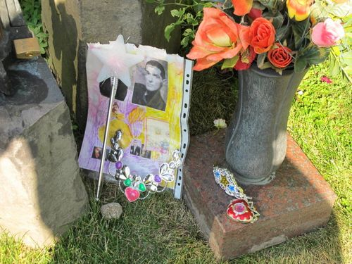 Offerings at Falco's Grave