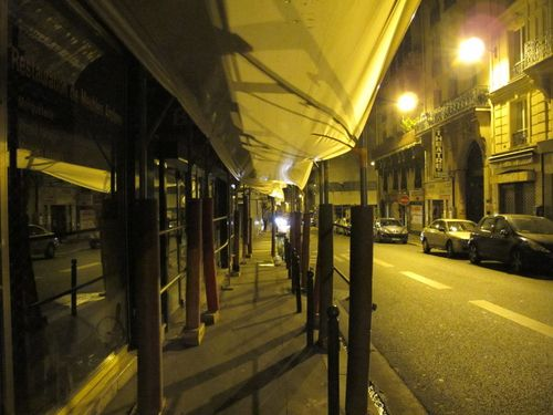 Scaffolding Rue de Clichy
