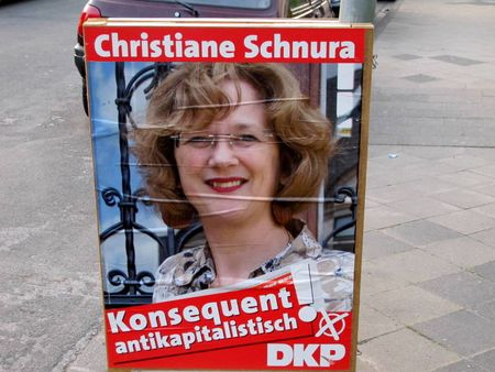Christian Schura German Communist Party Poster