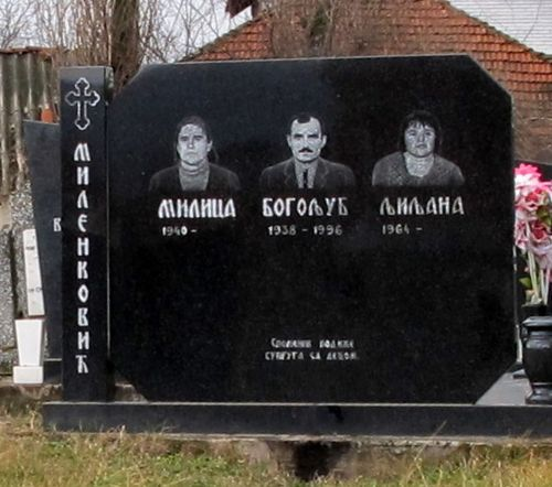 Family Plot in Gracanica, Kosovo 2010