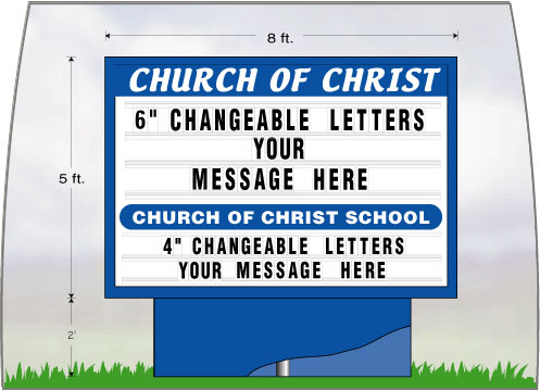 CustomChurchSignLg