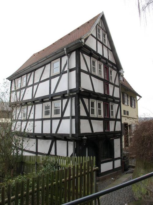 Half-Timbered House Marburg