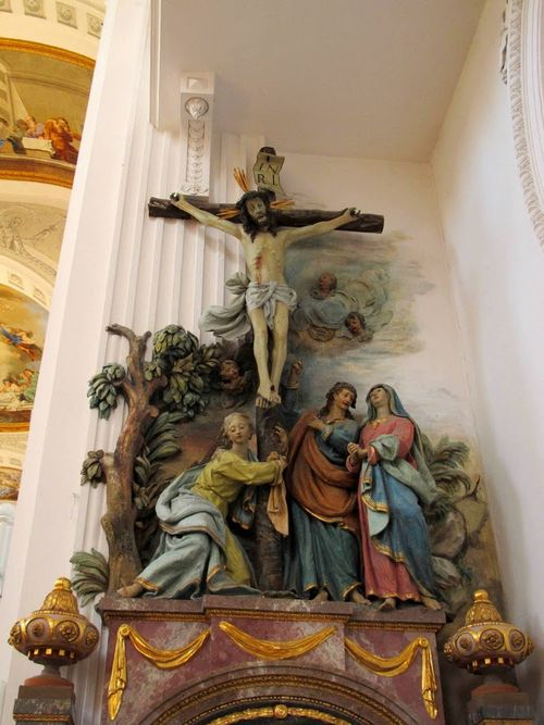 St. Verena Sculpture Group Crucifixion (Feichtmayr 1779-86)