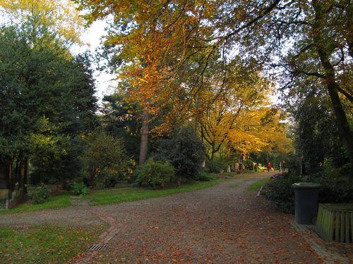 Nordfriedhof Path
