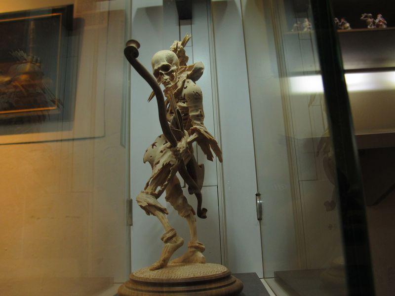 Skeleton Sculpture MfSK Kassel