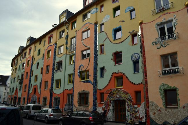 Traumfassade Krahestr. (Mosaic Facade) Krahestrasse (Josipa Horvat) General View. ('Traumfassade' Krahestrasse (Josipa Horvat) General View