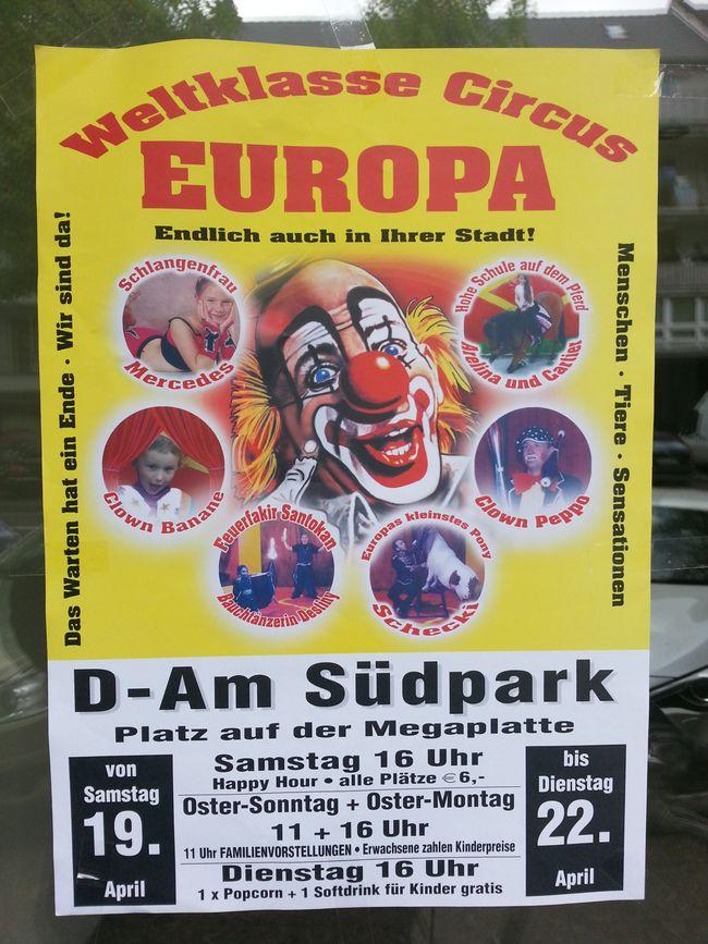 Welktklasse Europa Circus