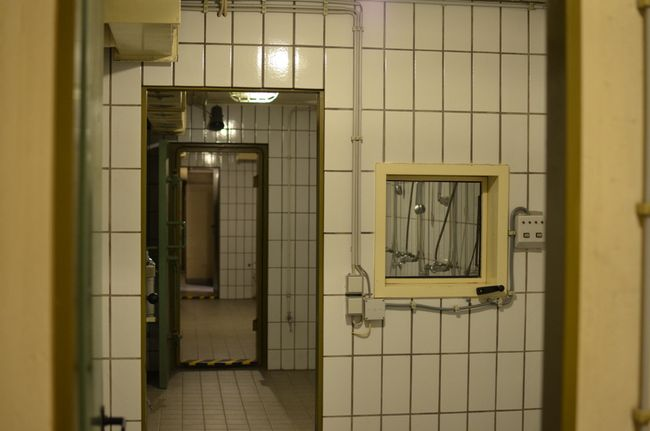 Regierungsbunker Disinfection Roomsa