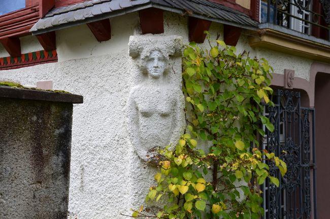 Caryatid on Schloss Neuglück