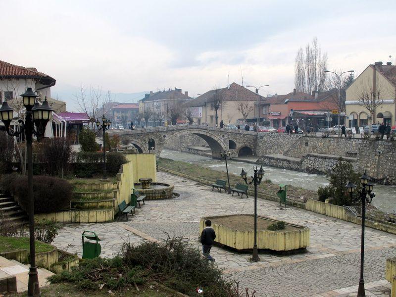 009 - Prizren - View with Stone Bridge