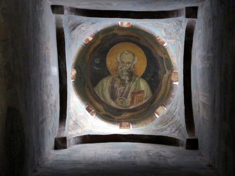 095 - Gracanica Monastery Church Portrait of Evangelist