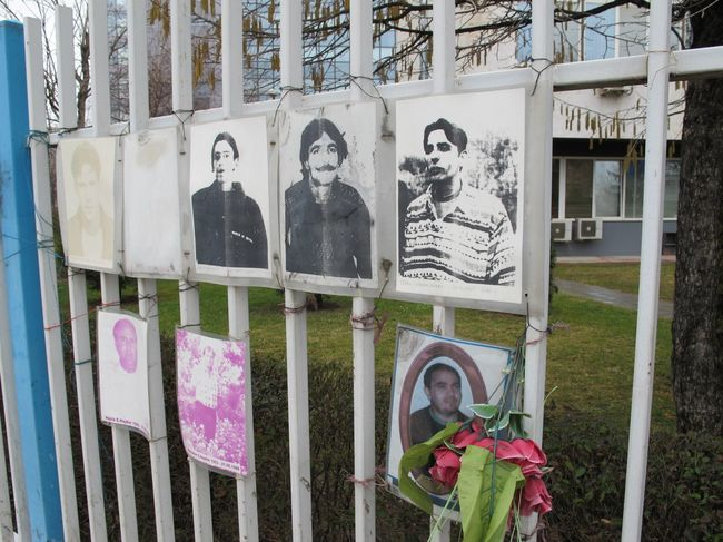 069 - Prishtina Memorial Fence 2