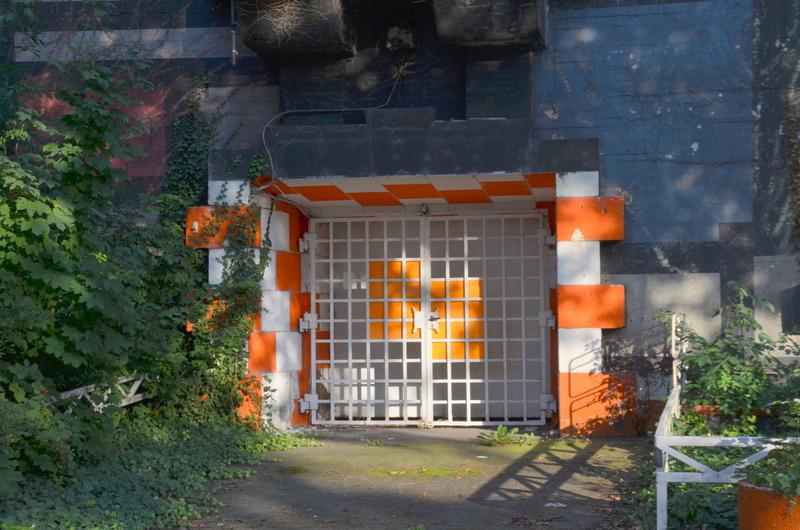 Entrance to Kölner Landstrasse Bunker