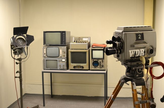 Regierungsbunker Broadcasting Equipment