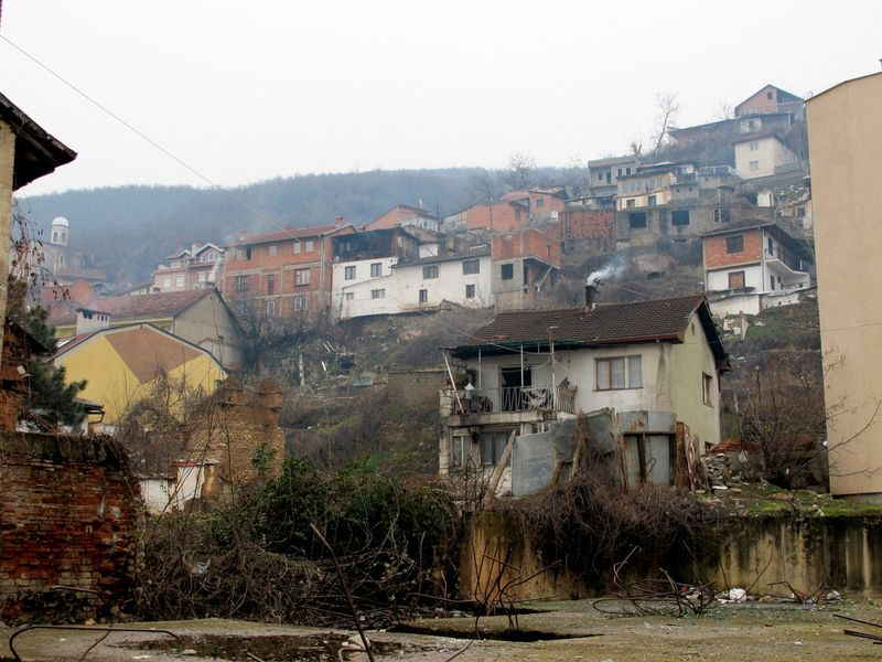 011 - Prizren - Hillside with Houses in Various States of Repair