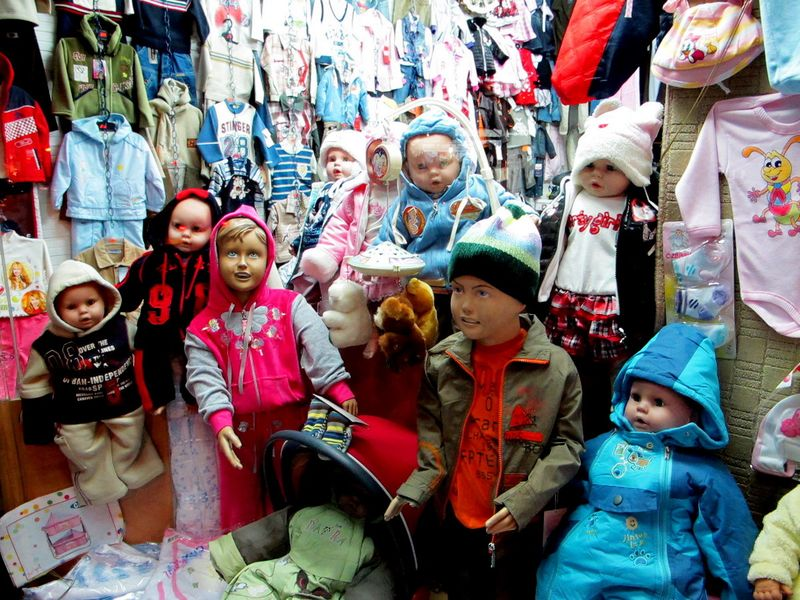 033 - Prizren - Child Mannequins