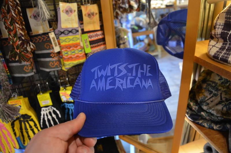 Shibuya twits the americana hat