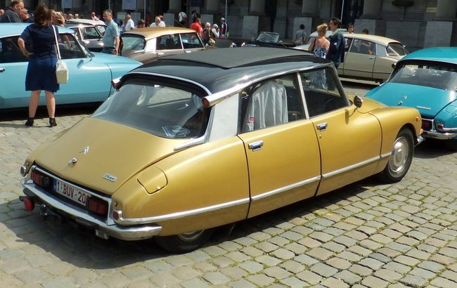 Beige Gold Citroen