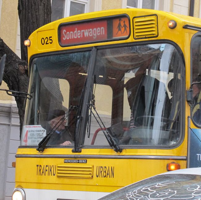 072 - Recycled German Bus in Prishtina 1
