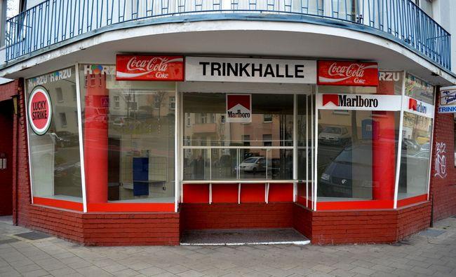 Tinrkhalle Behrensstrasse Exterior