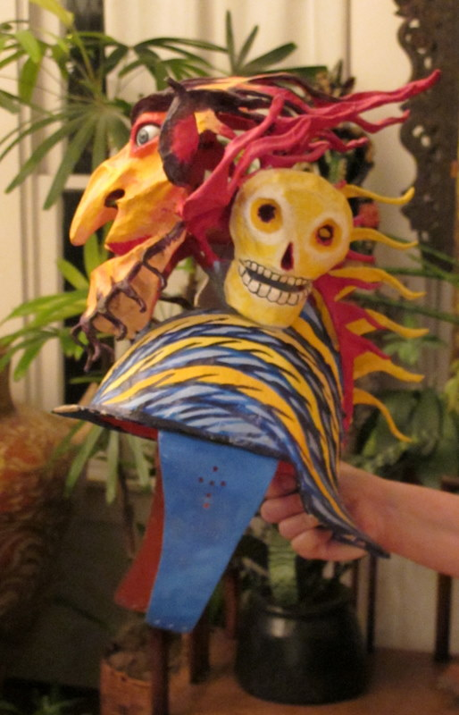 Mexican Demon Hat Side View
