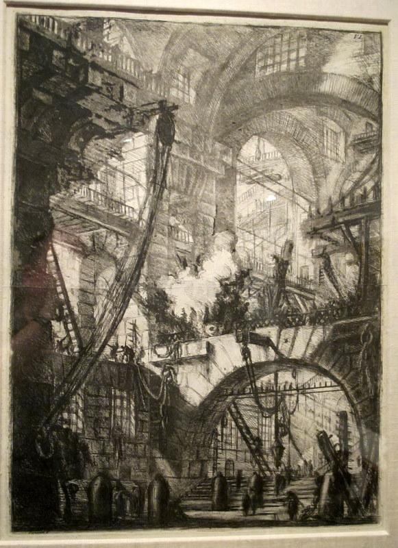 Piranesi -- Prison Print